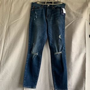 Gap Distressed Skinny Jeans